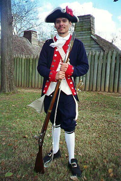 Colonial Soldiers Uniform 99