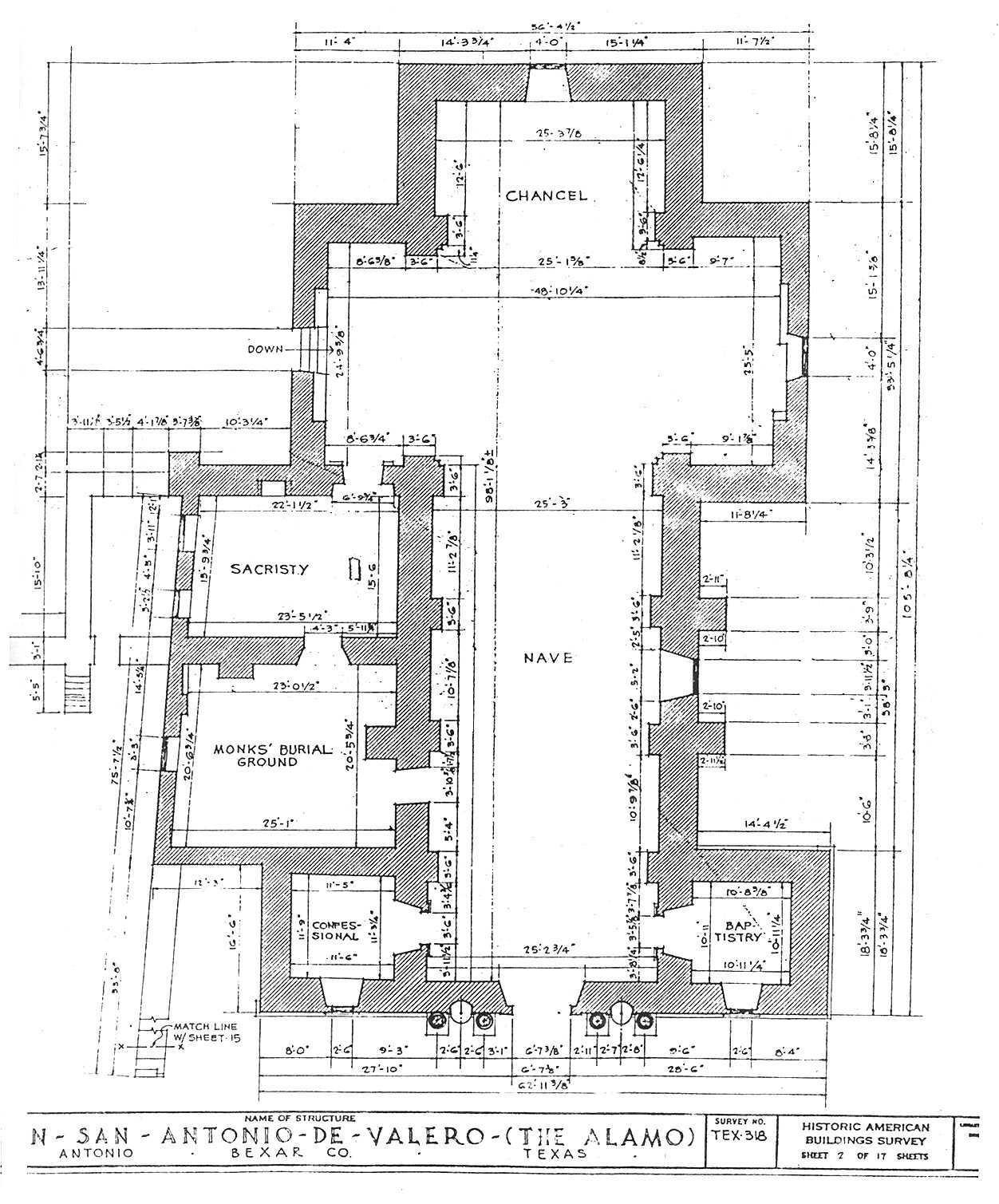 Alamo Floor Plan 1836 100 Alamo Floor Plan 1836 The