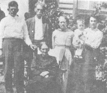 Catherine Bunting Burkett & Relatives