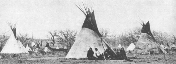 Comanche Camp in Texas