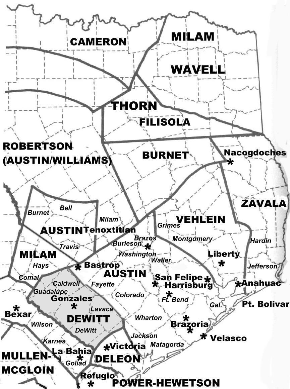 Colony Texas Map