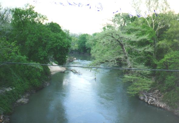Guadalupe River at Hochheim
